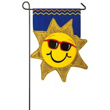 Summer Sunshine Garden Flag