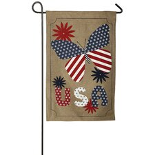 Love USA 2-Sided Garden Flag