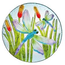 Dragonfly Shimmer Bird Bath