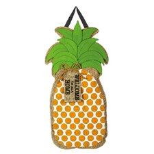 Pineapple Greeting Door Hanger