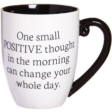 Classic One Positive Thought Coffee Cup