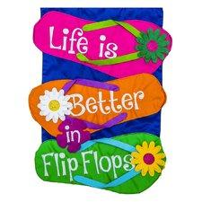 Life is Better in Flip Flop Flag