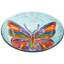 Butterfly Petal Birdbath