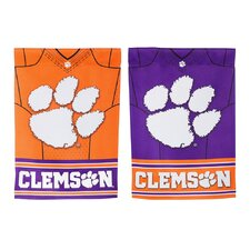 NCAA DS Suede Foil Garden Jersey Banner Flag (Set of 2)