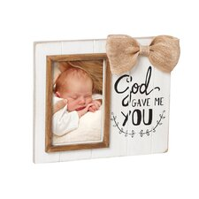 God Gave Me You Wooden Picture Frame