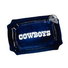 NFL Glass Rectangle Platter