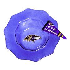 NFL Glass Dip Bowl