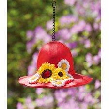 "9"" Dressy Hat Birdhouse"