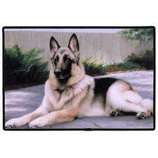 German Shepherd Porch Doormat