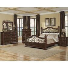 Harris Panel Customizable Bedroom Set