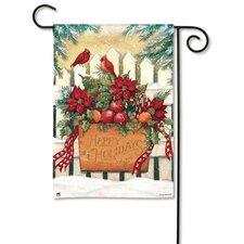 Holiday Gate Garden Flag