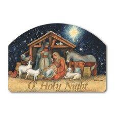 Holy Night Garden Sign