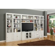 Boca 5 Piece Entertainment Center with Ladder