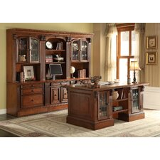 Huntington 6-Piece Wall Unit with Desk
