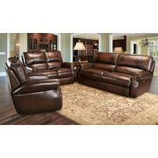 Hawthorne Leather Living Room Collection