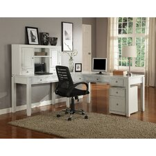 Boca Desk and Hutch