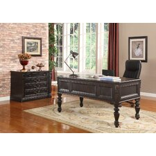 Grand Manor Palazzo Writing Desk and File Wall