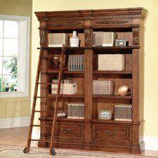 "Grand Manor 94.5"" Oversized Set Bookcase"