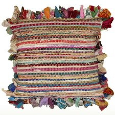 Accent Chindi Cotton Throw Pillow