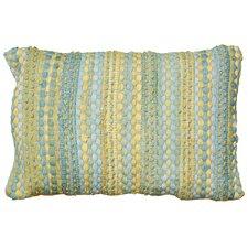 Braided Altair Accent Cotton Lumbar Pillow