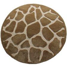 Fashion Natural Giraffe Area Rug