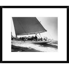 Yankee Cruising on East Coast, 1936 by Edwin Levick Framed Photographic Print