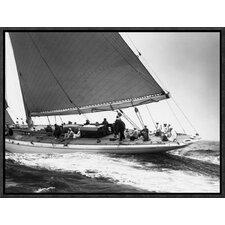 'Yankee Cruising on East Coast, 1936' by Edwin Levick Framed Photographic Print