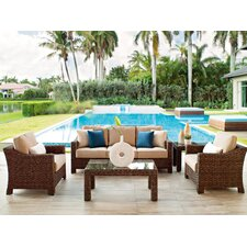 Lake Shore 5 Piece Deep Seating Group with cushions