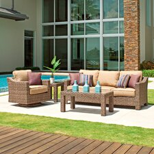 Lake Shore 4 Piece Deep Seating Group with cushions