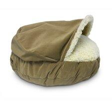 Cozy Cave Luxury Orthopedic Hooded Dog Bed