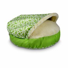 Luxury Pool Patio Cozy Cave Linked Sidewalls Pet Bed