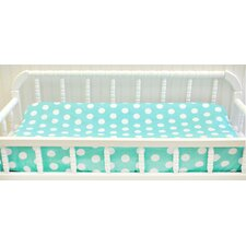 Pixie Baby Polka Dot Contour Changing Pad Cover