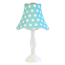 "Pixie Baby 21"" H Table Lamp with Bell Shade"