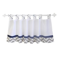 "Out of the Blue 54"" Curtain Valance"