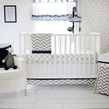 Out of the Blue 3 Piece Crib Bedding Set