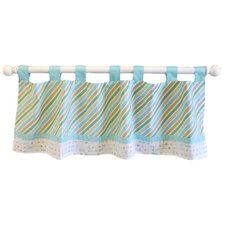 "Follow Your Arrow 54"" Curtain Valance"