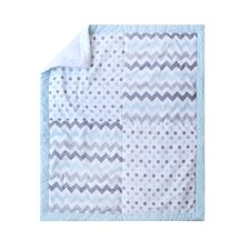 Chevron Baby 3 Piece Crib Bedding Set