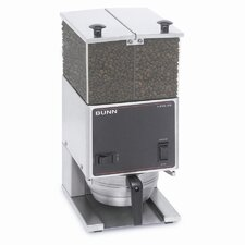 Low Profile Portion Control Electric Burr Coffee Grinder