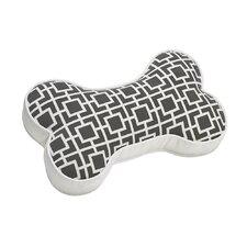 Bone Sofa Velet Throw Pillow