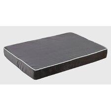 Isotonic Plat Microvelvet Dog Foam Mattress