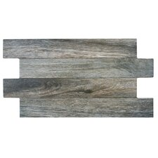 "Moscow 12.25"" x 23.63"" Porcelain Field Tile in Cendre"