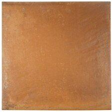 "Rustilo 13"" x 13"" Porcelain Field Tile in Cotto"