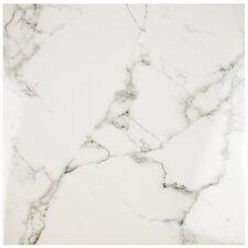 """Classique 18"""" x 18"""" Ceramic Field Tile in White"""