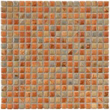 "Arcadia 0.563"" x 0.563"" Porcelain Mosaic Tile in Tundra Beige"