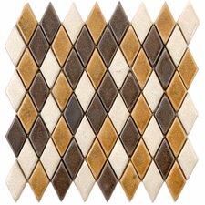 "Heritage 1.25"" x 2.25 Ceramic Mosaic Tile in Goldstone"