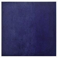 "Symbals 14.13"" x 14.13"" Porcelain Field Tile in Blau"