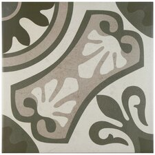 "Serdi 13"" x 13"" Ceramic Field Tile in Grey"
