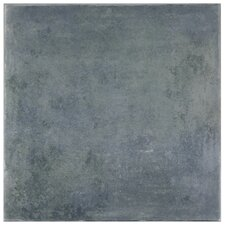 "Rocin 13"" x 13"" Ceramic Floor and Wall Tile in Blue"