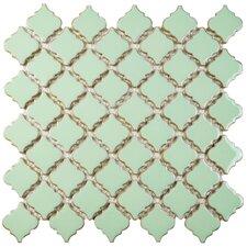 """Pharsalia 2"""" x 2.25"""" Porcelain Mosaic Tile in Light Green"""
