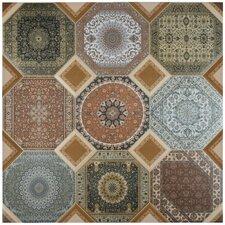 """Jaffar 23.63"""" x 23.63"""" Ceramic Field Tile in Rustic"""